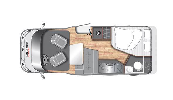 Cruiser Comfort T612