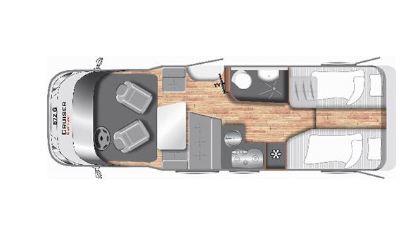 Cruiser Comfort T672G - Motorhome kopen Antwerpen