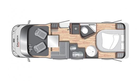Cruiser Comfort T692 - Motorhome kopen Antwerpen