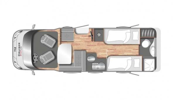 Cruiser Comfort T712 - Motorhome kopen Antwerpen