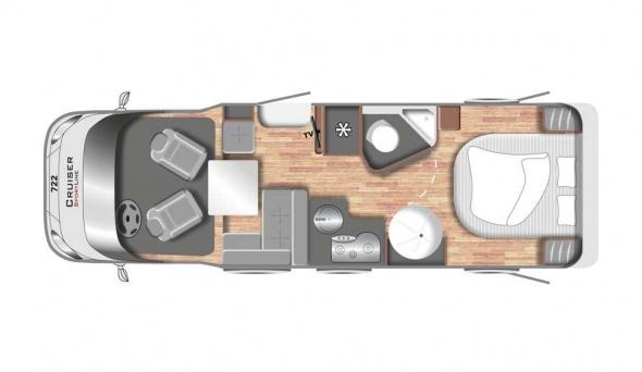 Cruiser Comfort T742 - Motorhome kopen Antwerpen