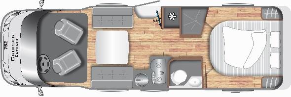 Cruiser Comfort T752 - Motorhome kopen Antwerpen
