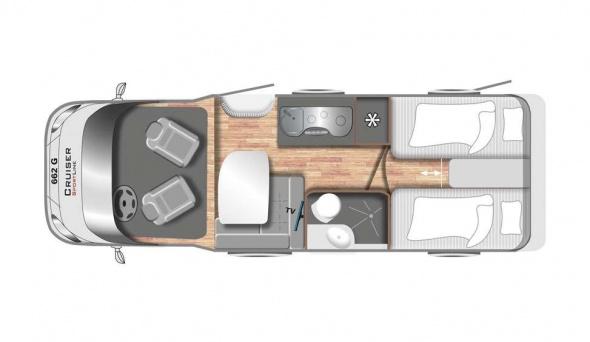 Cruiser Premium T661G - Mobilhome kopen Antwerpen