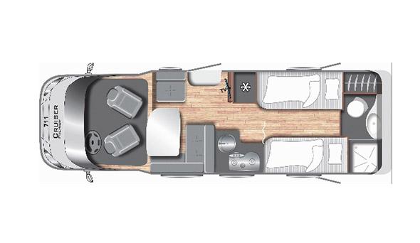 Cruiser Premium T711 - Mobilhome kopen Antwerpen