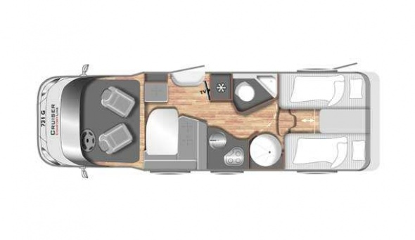 Cruiser Premium T731G - Mobilhome kopen Antwerpen
