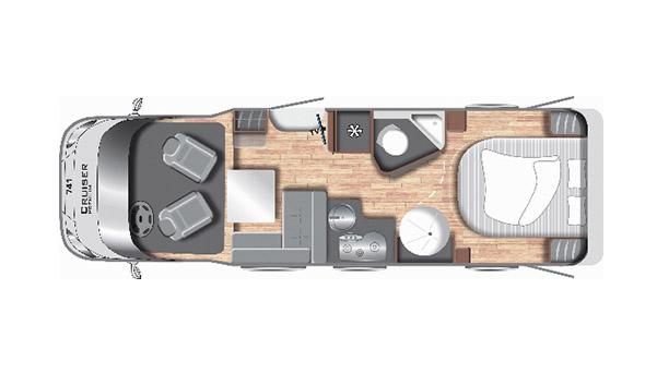 Cruiser Premium T741 - Mobilhome kopen Antwerpen