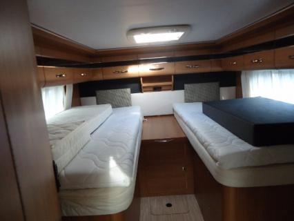 Lmc Cruiser T731G AUTOMAAT slaapkamer