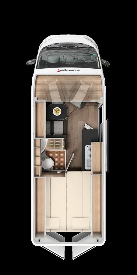 Sunlight-CV-640 Camper van kopen
